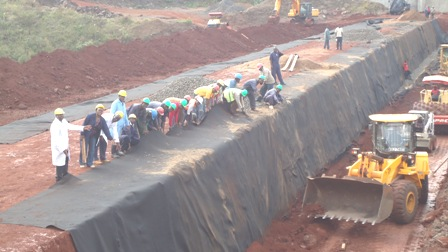 Kiserian Dam Construction Supervision